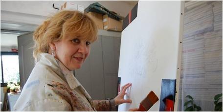 Villeneuve : le peintre Corinne Vilcaz va exposer en Corée du Sud