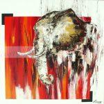 AfricaniaHuile sur toile90x90 cm