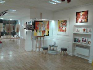 EXPOSITIONS EN GALERIES D'ART