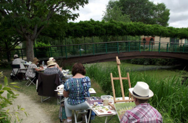 stage de peinture été aquarelle et huile