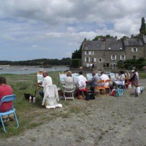 Stages huile et aquarelle Bretagne