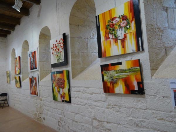 Exposition personnelle Vilcaz Château Prieural Monsempron 2019