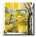 EdenHuile sur toile120x120 cmCopyright Vilcaz