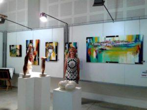 Vilcaz Invitée d'honneur Salon d'art de Sorreze 2017