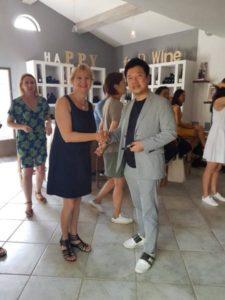 Rencontre avec mon galeriste Coréen