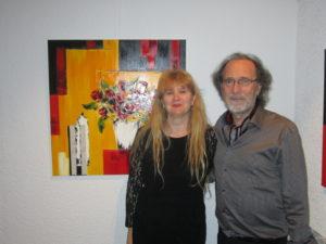 Galerie Egrégore et Michel Guérard