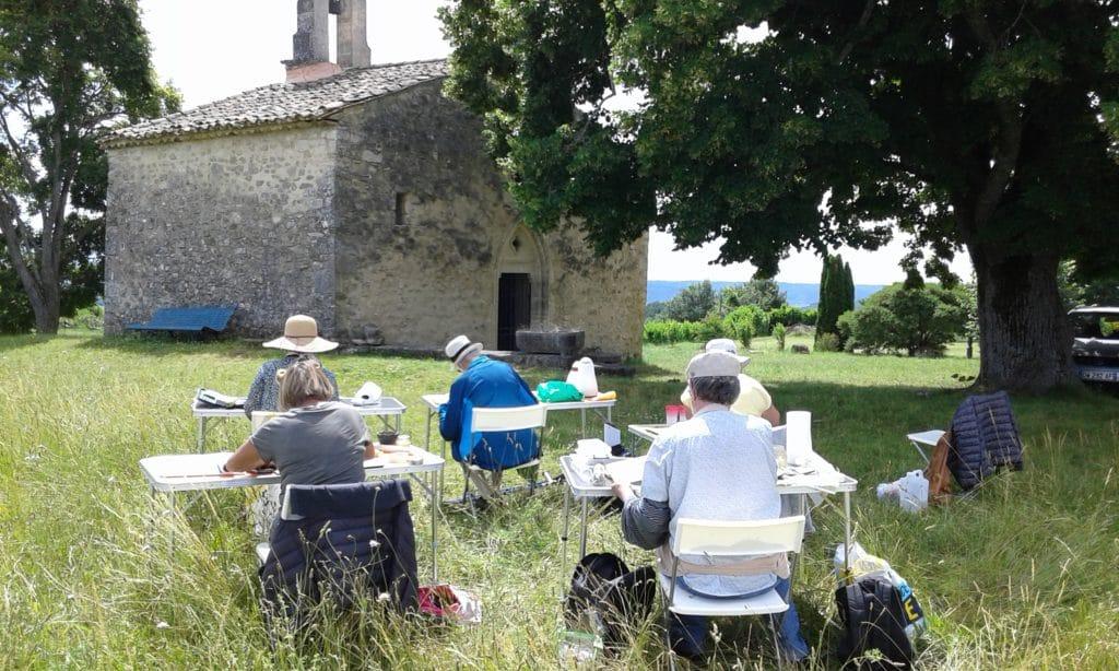 Stage Aquarelle en Provence avec l'artiste Corinne Vilcaz