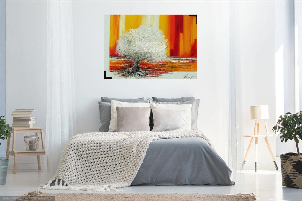 Immanence. Huile sur toile. 70 x 100 cm