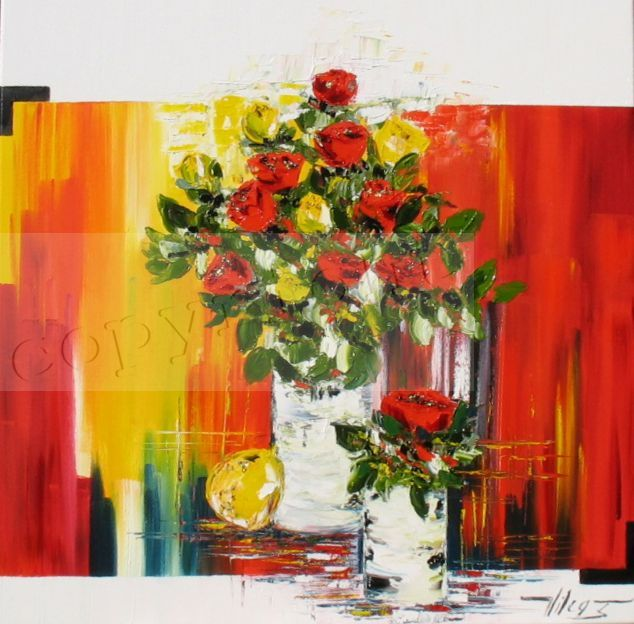 L'Amour en nousHuile sur toile80x80 cm