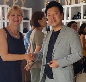 Mon agent et Galeiste Coréen