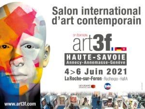 Salon art contemporain Art3F Corinne Vilcaz