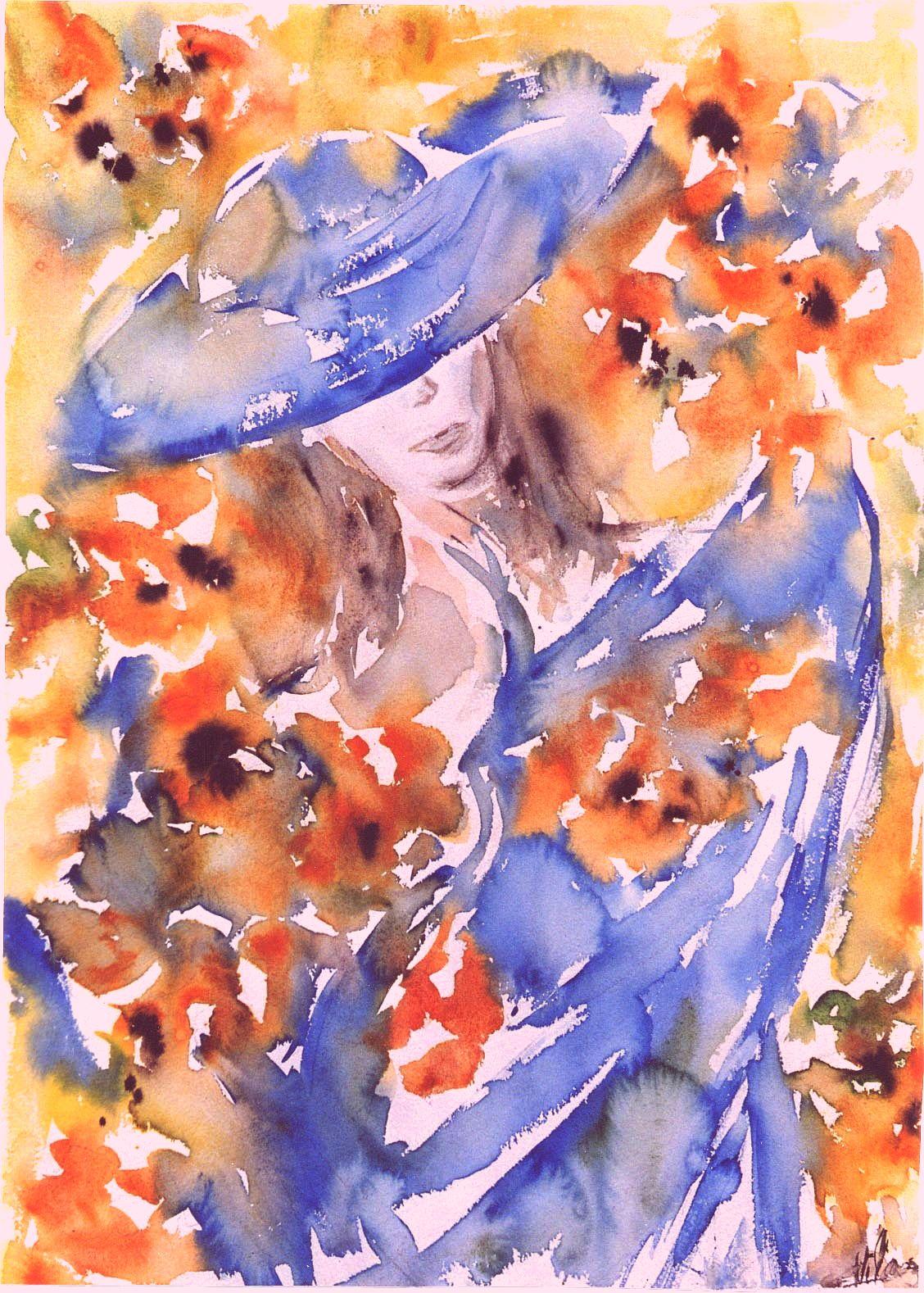 Aquarelle Corinne Vilcaz