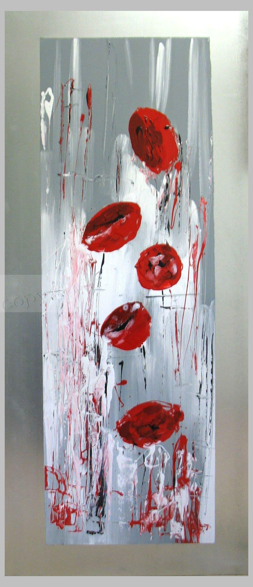 Envolée lyriqueOeuvre sur plaque60x136 cm