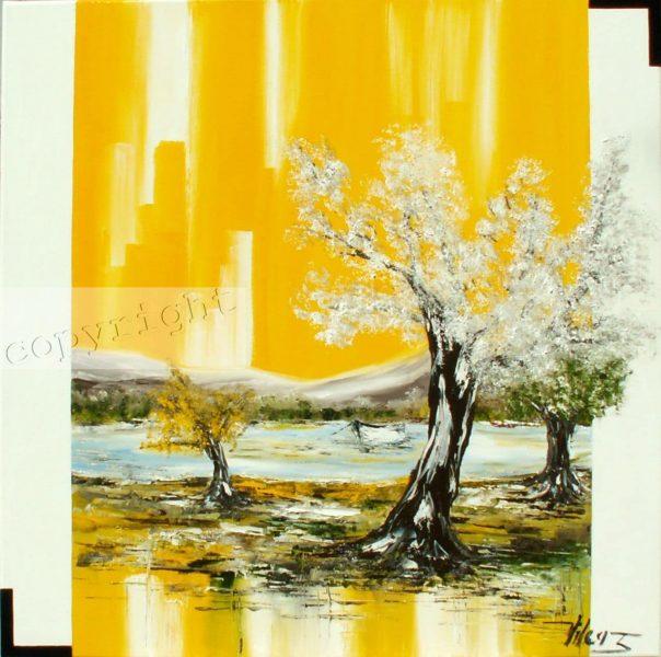Peinture à l'huile Corinne Vilcaz